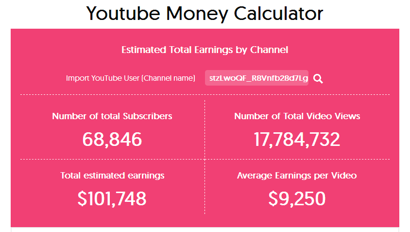 dhinchak pooja youtube earnings