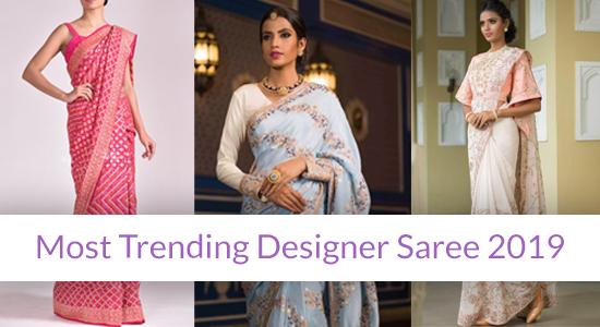 designer sarees 2019