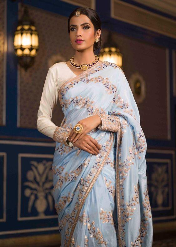 Trending Designer Saree 2019